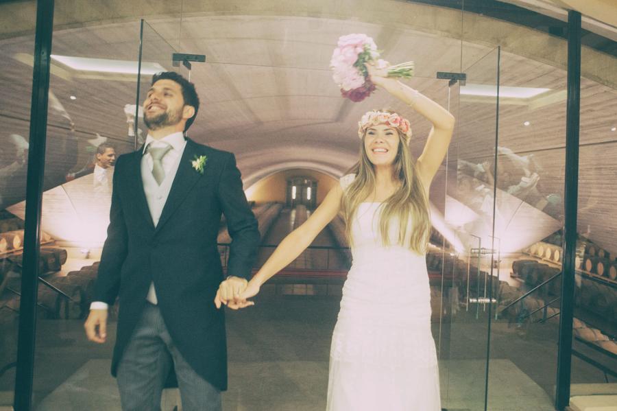 Claudia y Guillermo_Sala barricas